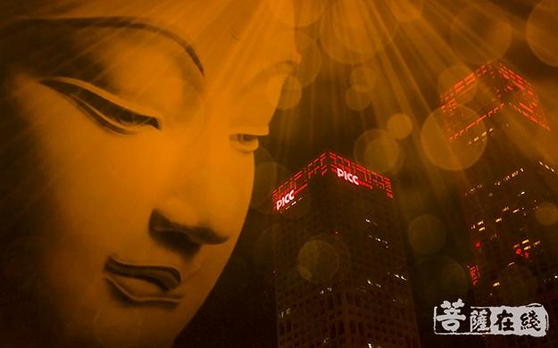 佛像、漏光、佛光、建筑、特写、佛头、观音菩萨-富民梦-于磊.jpg