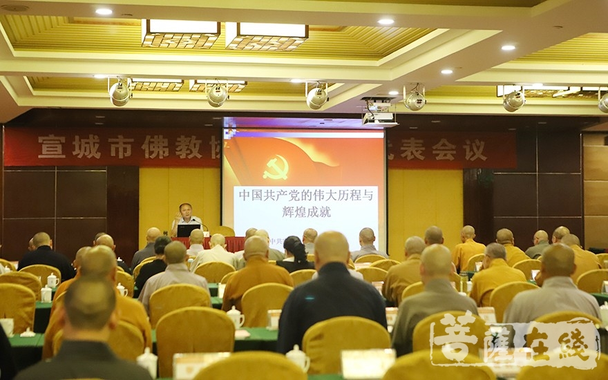 主题:《中国共产党的伟大历程与辉煌成就》(图片来源:菩萨在线 摄影:王颖)