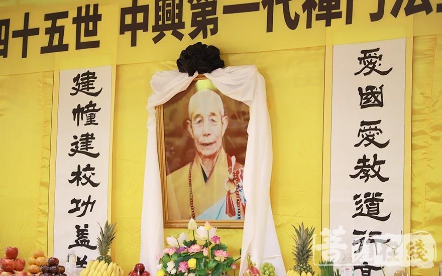 静海长老一生爱国爱教、建寺安僧(图片来源:菩萨在线 摄影:张妙)