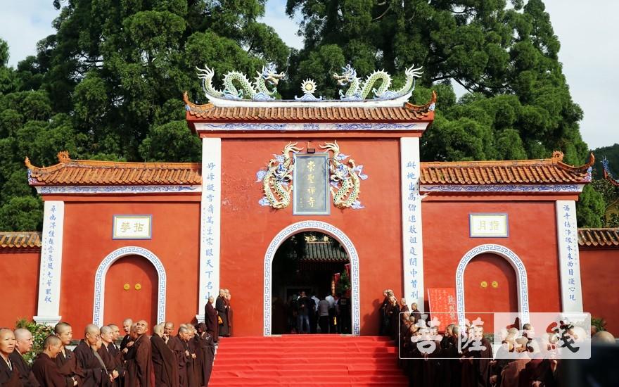 福州雪峰崇圣禪寺(圖片來源:菩薩在線 攝影:李蘊雨)