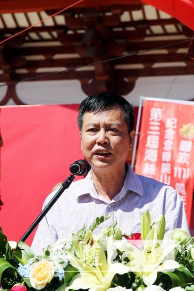 王壽欽局長希望福州佛教界進一步開拓思路,銳意進取(圖片來源:菩薩在線 攝影:施琪)