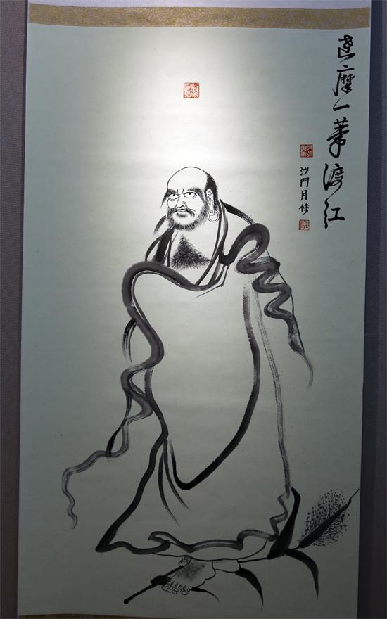 学僧作品(图片来源:菩萨在线 摄影:李蕴雨)