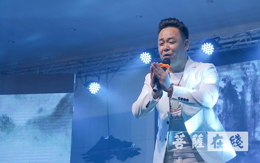 歌曲《龙王赞偈》(图片来源:菩萨在线 摄影:唐雪凤)唐雪凤)