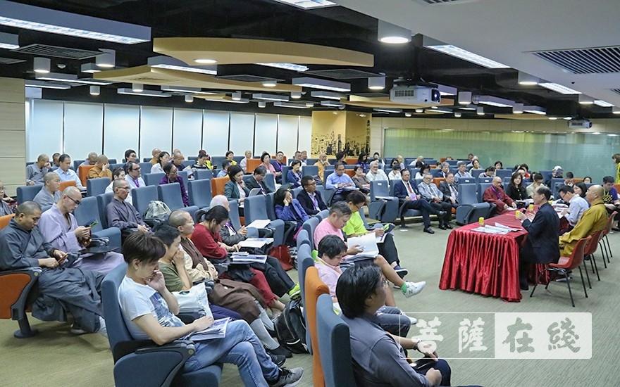 论坛闭幕式(图片来源:菩萨在线 摄影:王颖)