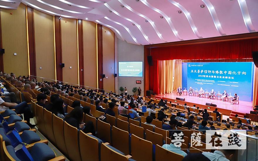 近600位社会各界人士出席活动(图片来源:菩萨在线 摄影:张妙)