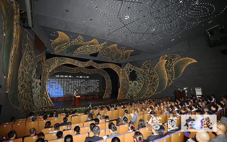 普陀山南海观音文化节开创于2003年,由普陀山佛教协会主办