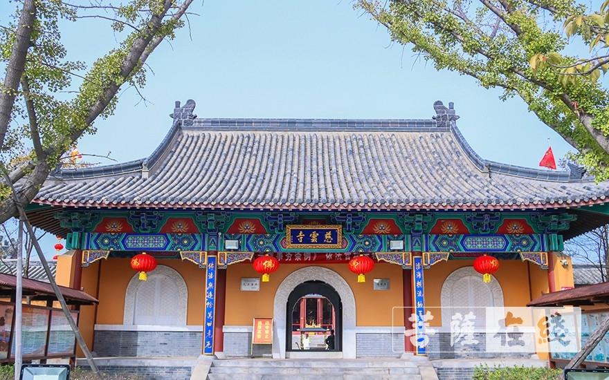 胶州慈云讲寺(图片来源:菩萨在线 摄影:唐雪凤)