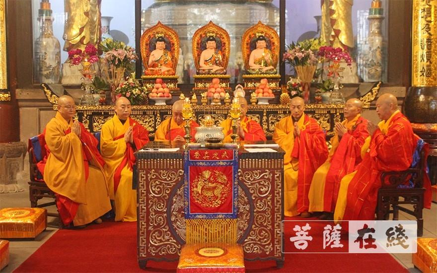 七尊证阿阇黎师(图片来源:菩萨在线 摄影:王颖)