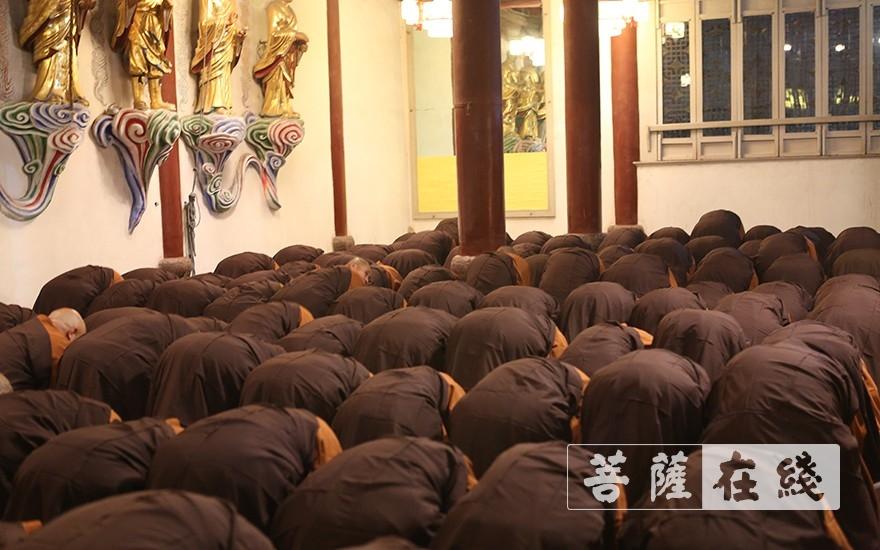 传灯祈福法会圆满(图品来源:菩萨在线 摄影:贺雪垠)