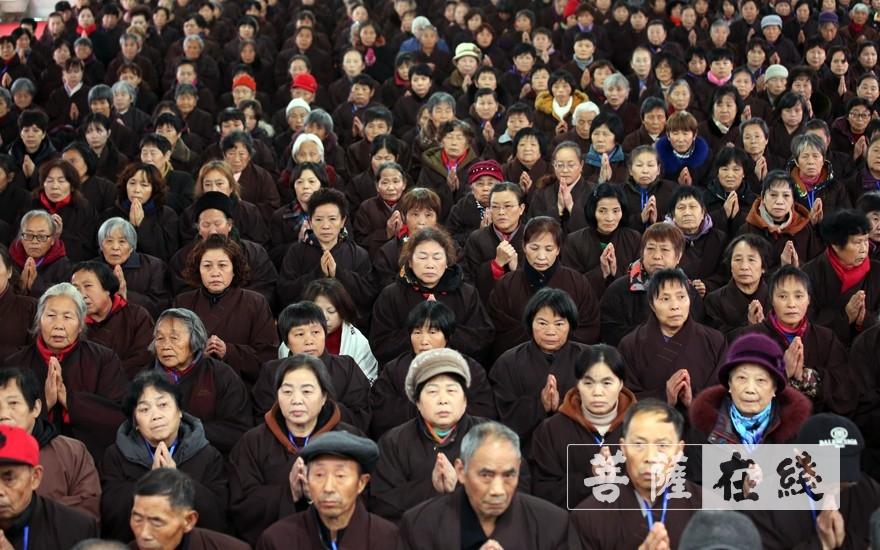 求戒居士(图片来源:菩萨在线 摄影:李蕴雨)