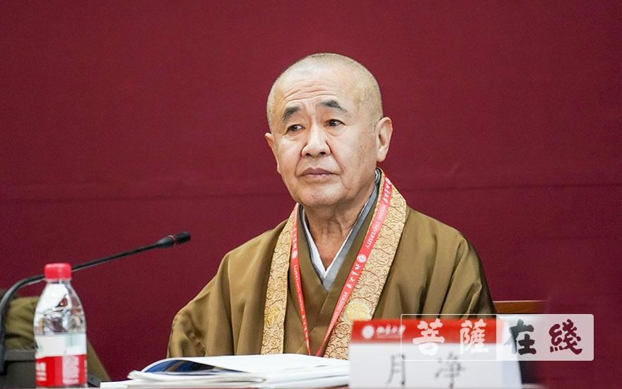 福原隆善长老:天台宗是中日佛教交流的重要历史见证(图片来源:菩萨在线 摄影:张妙)