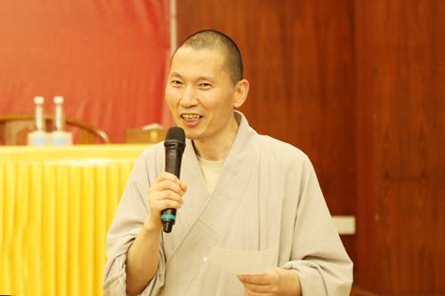 2018佛教英语培训班现场采访演彻法师