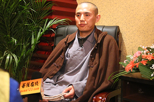 四川省佛教協會副秘書長智燈大和尚