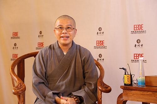 2018佛教英语培训班现场采访洞鈜法师