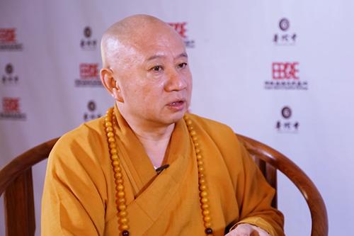 2018佛教英语培训班现场采访明生大和尚