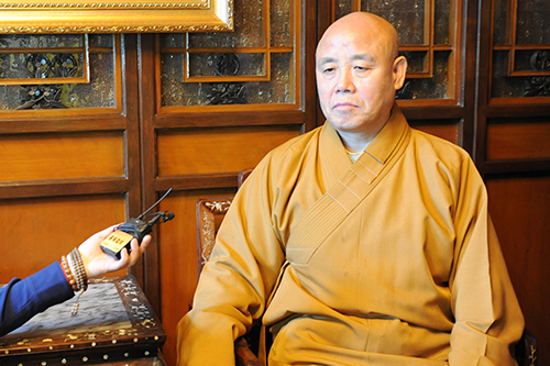 中國佛教協會副秘書長演覺大和尚