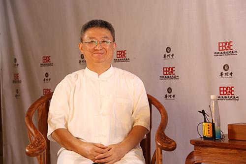 2018佛教英语培训班现场采访黄连忠教授