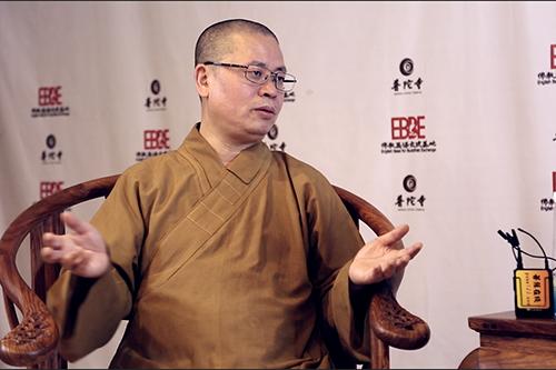 2018佛教英语培训班现场采访净因法师