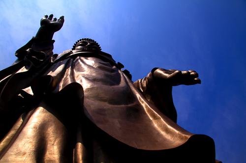 佛教艺术集萃——合金铜释迦牟尼佛