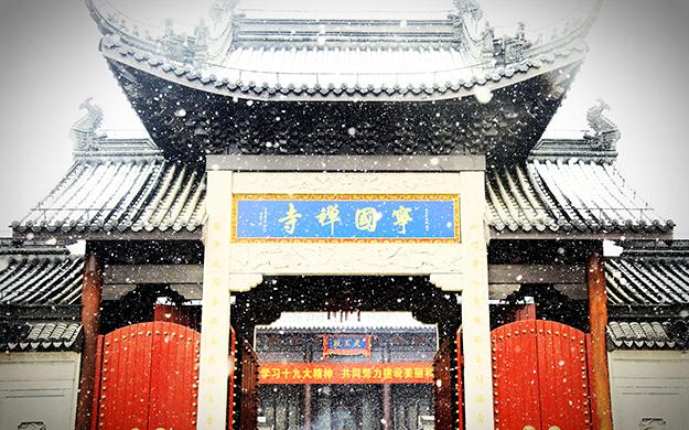 都市中的清净丛林——上海宁国禅寺