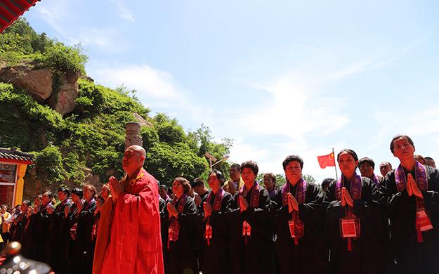 錦州北普陀山北普陀寺中興二十周年慶典法會
