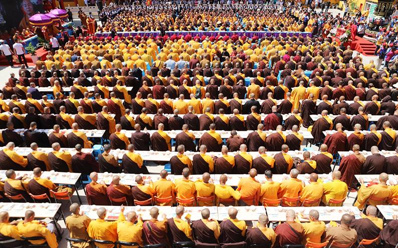 北普陀寺中興廿年新篇:祈福中華繁榮昌盛齋僧法會