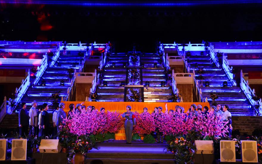 【高清图集】山东省佛教协会举办献礼祖国70周年文艺汇演
