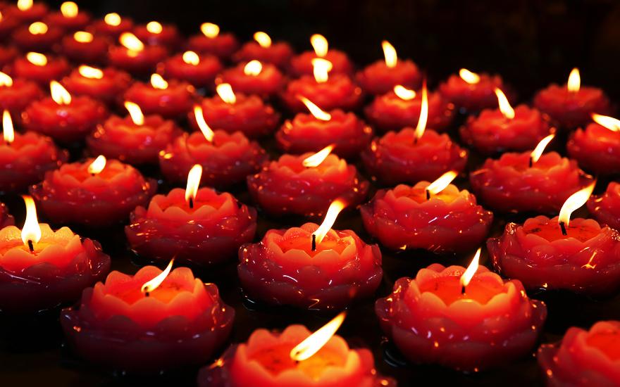 南京宏觉寺念佛堂三周年万盏莲花传灯祈福法会圆满