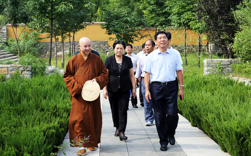 【高清圖集】慶祝新中國成立七十周年 山東佛教界中國畫名家邀請展在青州開展