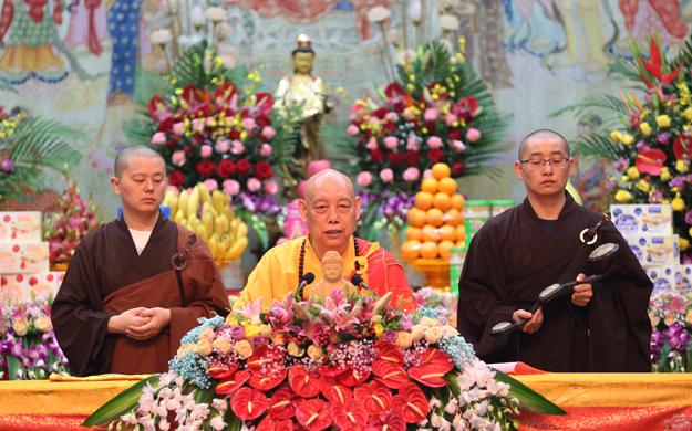 【高清圖集】普陀山佛教協會己亥年秋傳授三皈五戒法會圓滿