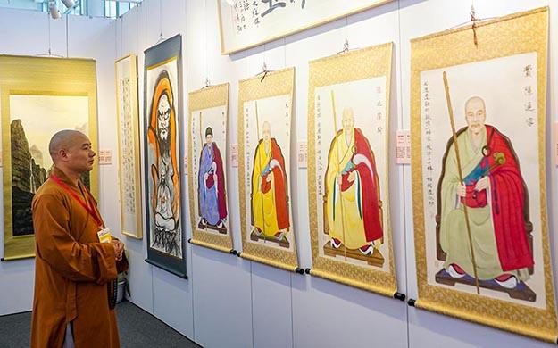 中日黃檗文化之光-內藤香林畫僧·陳秀卿居士書畫展在廈門開幕