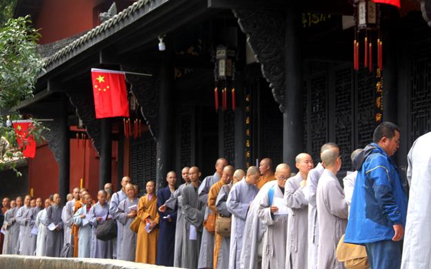 遂宁广德寺暨高洞尼众禅院传授三坛大戒 600余名新戒陆续报到