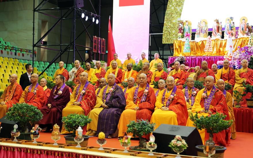 【高清图集】2019世界佛教三大语系颂华诞庆回归祈福法会