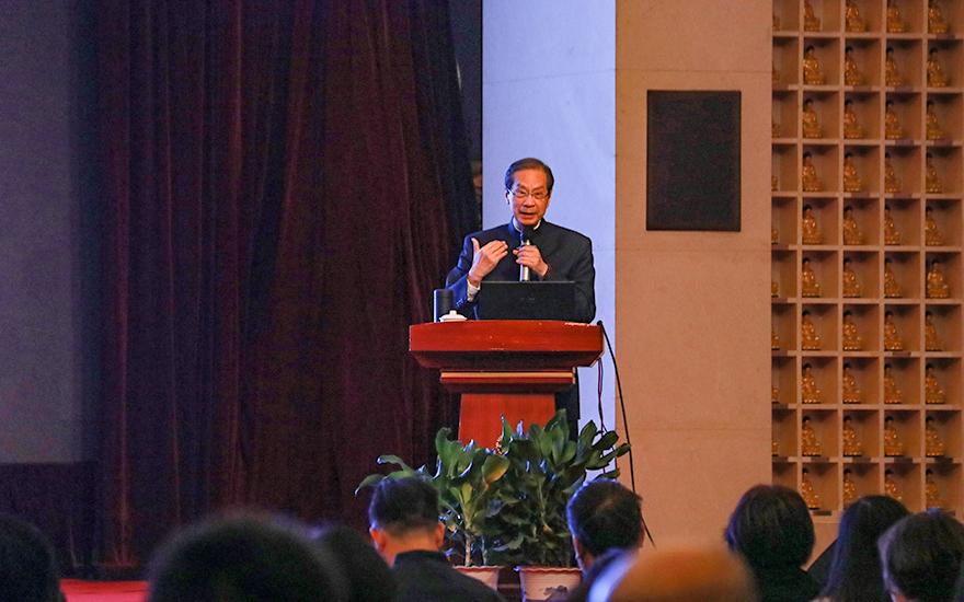 上海玉佛禅寺第十九期觉群人生讲坛 潘宗光教授讲述色即是空的意义