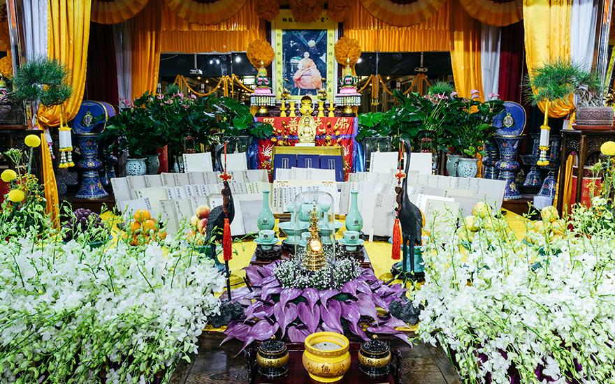 【高清图集】锦州北普陀寺举行纪念宣航老和尚105岁冥诞法会