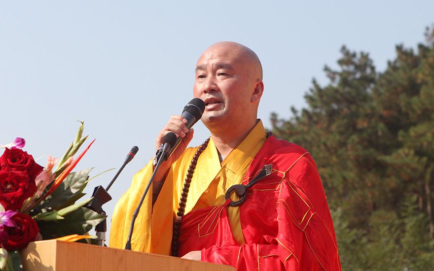慧光法师:充分利用优势,发挥九华山在中日韩友好交流黄金纽带中的积极作用