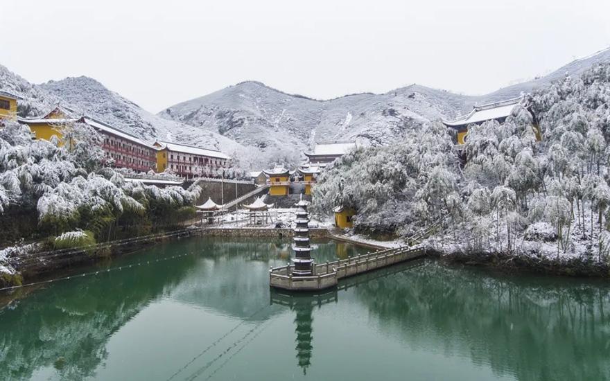 长兴法海禅寺——藏于山水 融于天地