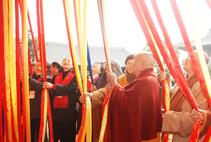 【高清图集】上海宝山寺举行移地重建落成暨全堂佛像开光法会